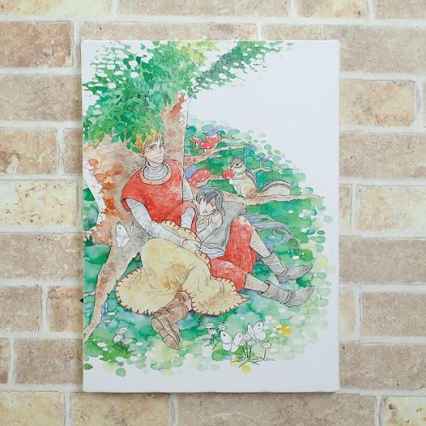 岩本ナオ先生「マロニエ王国の七人の騎士」キャンバスアートC(大)