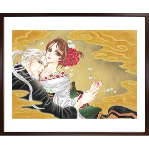 大海とむ先生直筆サイン入り超高画質複製原画プリマグラフィ「蜜夜婚~付喪神の嫁御寮~」(サイズ中)