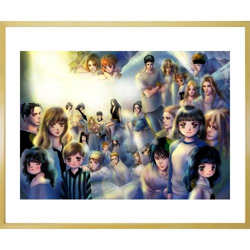 田村由美先生直筆サイン入り超高画質複製原画プリマグラフィ「7SEEDS B」(サイズ中)