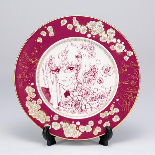 萩尾望都先生デビュー50周年記念 『ポーの一族』×Noritake コラボ特製プレートA<薔薇>