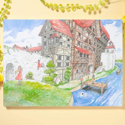 岩本ナオ先生「マロニエ王国の七人の騎士」キャンバスアートD(大)