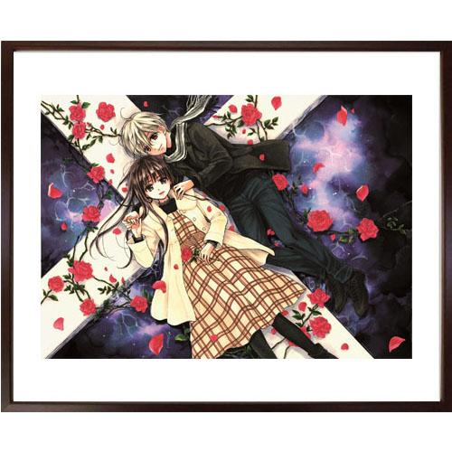くまがい杏子先生直筆サイン入り!超高画質複製原画プリマグラフィ「チョコレート・ヴァンパイアC」(サイズ小)