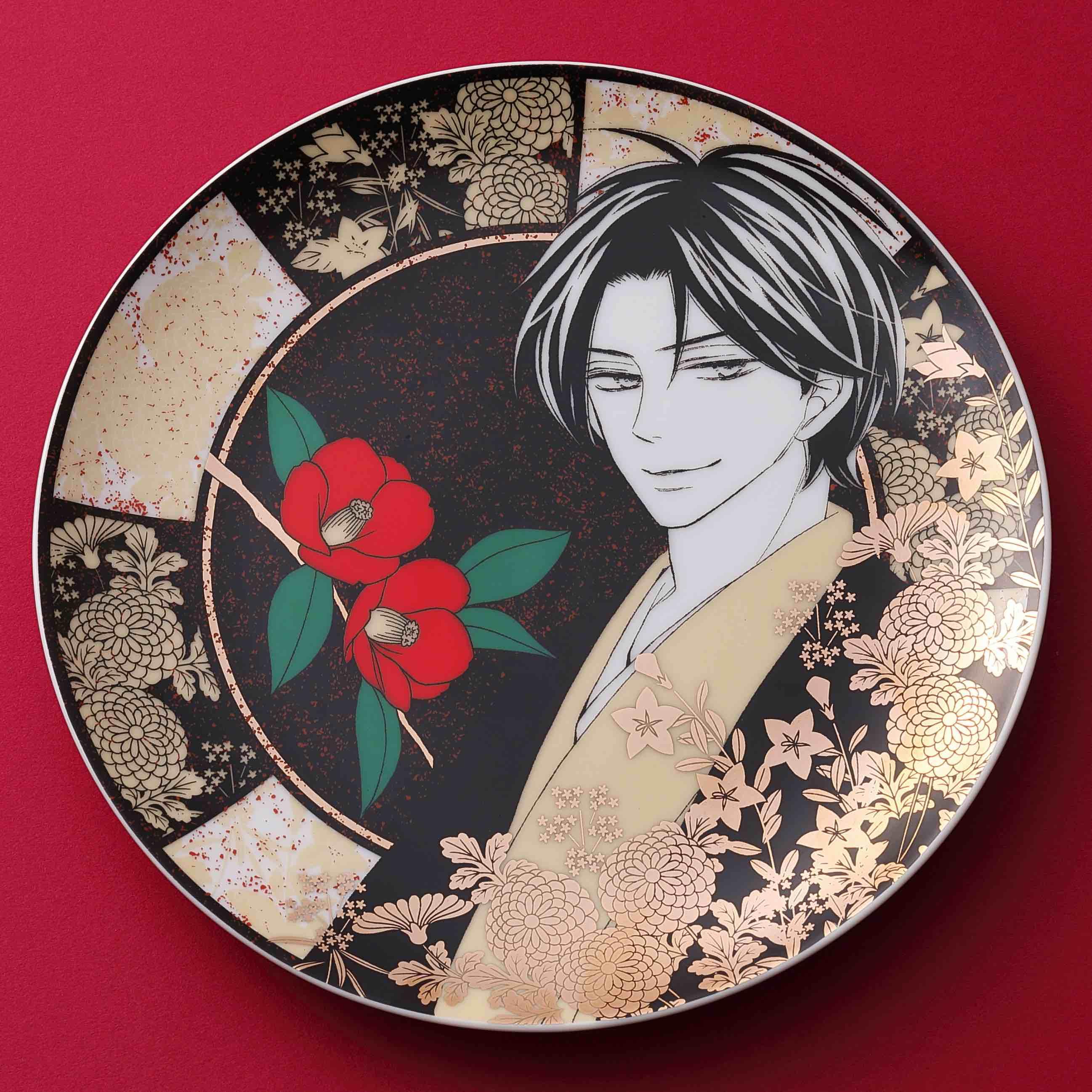 桜小路かのこ先生「青楼オペラ」オリジナル絵皿