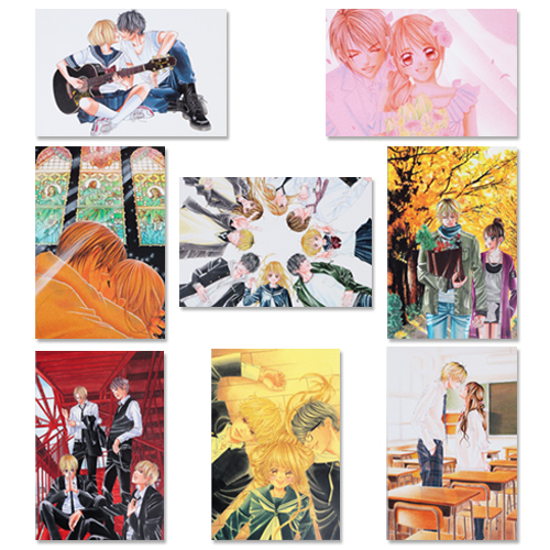 青木琴美20th原画展 ポストカード / 全8種