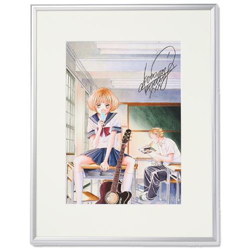 青木琴美先生直筆サイン入り「カノジョは嘘を愛しすぎてる」超高画質複製原画