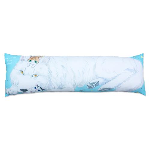 「うちの犬が子ネコ拾いました。」ペリタス マロ&キップ 抱き枕
