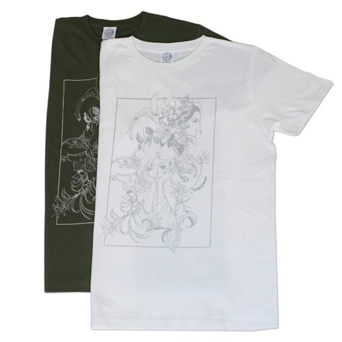 萩尾望都先生『ポーの一族展』〈Tシャツ トーマの心臓〉
